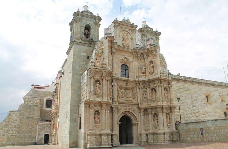церковь-оахака-Мексика