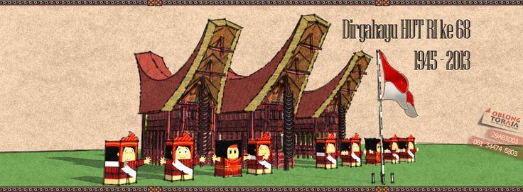 Indonesian Independence Day in Toraja (cartoon series)