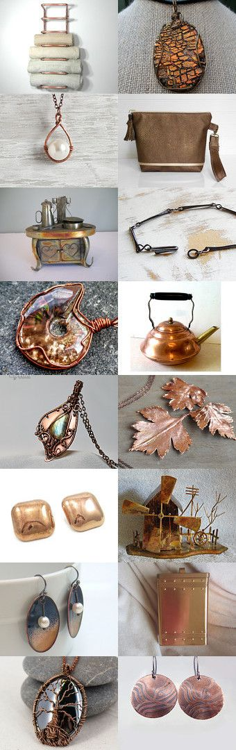 Surrounded by Copper by Lynn McPherson on Etsy--Pinned+with+TreasuryPin.com