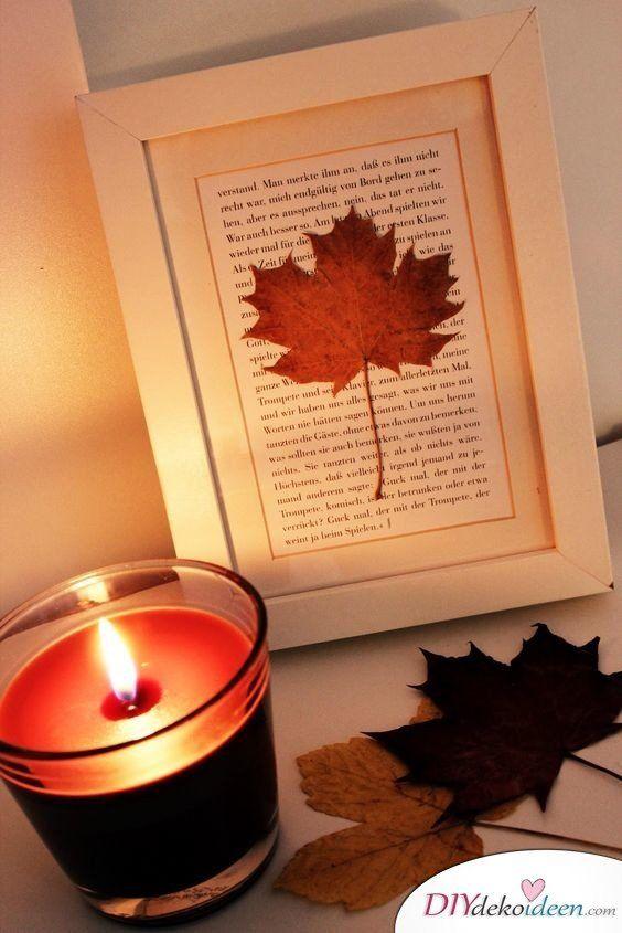 Herbstdeko selber machen – 15 DIY Bastelideen für die dritte Jahreszeit – Herbst