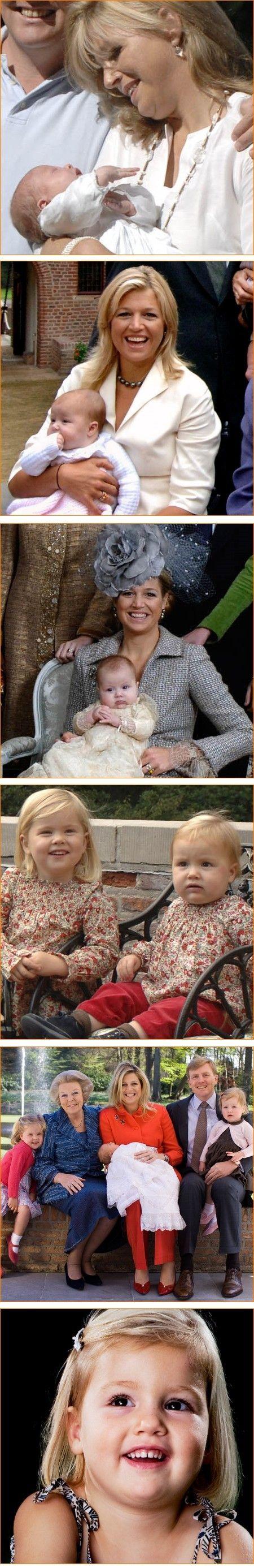 Prinses Alexia viert haar vierde verjaardag