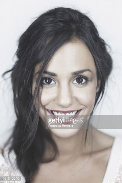 Photo d'actualité : Actor Alice Belaidi is photographed in Caen,...