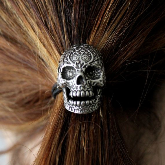 sugar skull hair styles the 25 best ponytail holders ideas on hair 2874