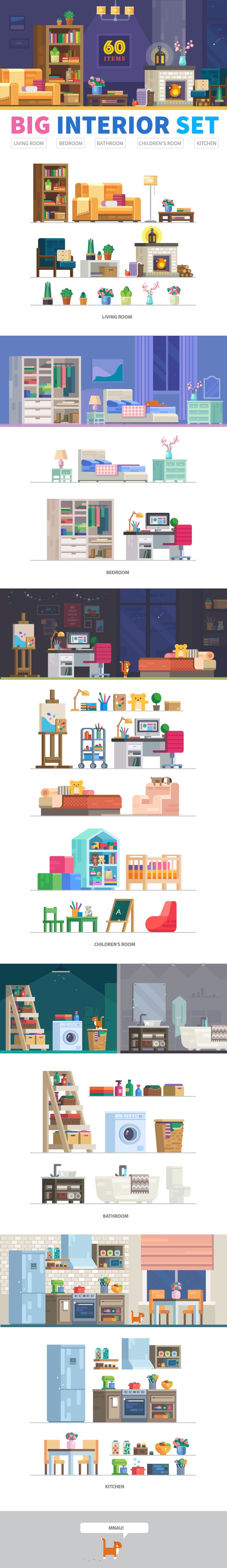 Really impressive flat illustrations! All very nicely done.