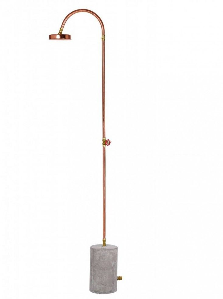 Easy to reproduce outdoor shower inspiration: Outdoor shower freestanding garden hose ; Gardenista