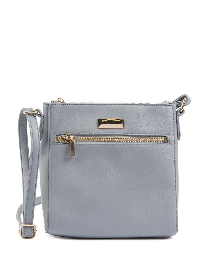 Textured Crossbody Bag