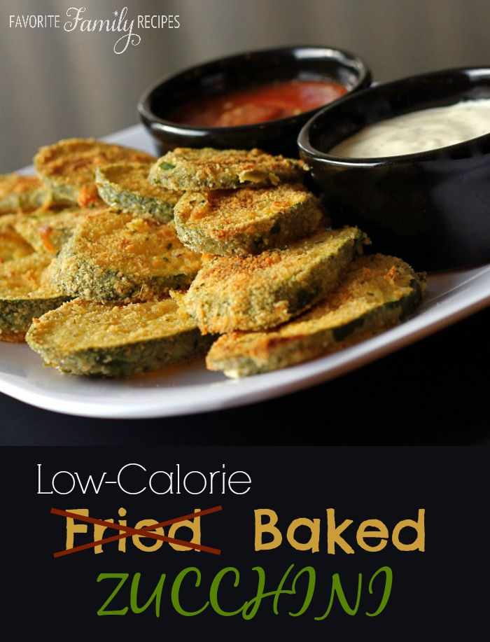 I love fried zucchini - so glad to have a healthier option! #zucchini #lowcalrecipes #appetizer