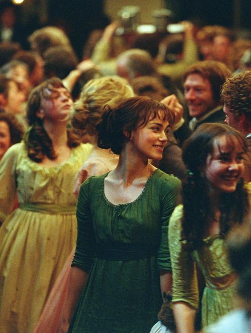 Pride and Prejudice - I, without shame, can easily say I've watched the film over 20 times, and read the book once a year.
