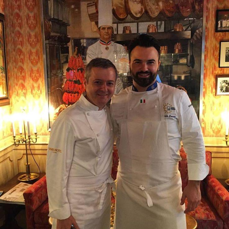 Para  nuestro Chef Consultant Enrico Croatti, Estrella Michelin en su restaurante Dolomieu Ristorante - D.V. Chalet Boutique Hotel & Spa, en Madonna di Campiglio (Italia), ha sido un placer haber participado en este encuentro gastronómico de grandes Chefs.  #EncuentroGastronómico #EstrellasMichelin #PaulBocuseRestaurant  #CasadelMaestro #OroBianco #GrandesChefs #PaulBocuse #Calpe #Lyon
