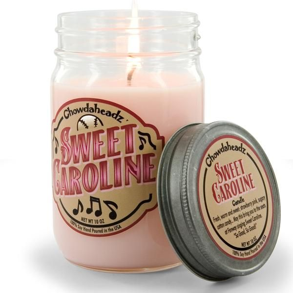 "Sweet Caroline Candle ""So good, so good, so good!"""