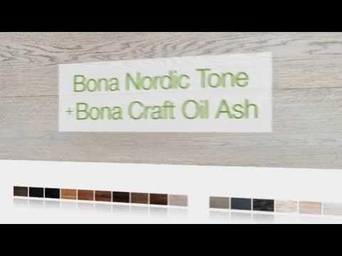 Bona parketolie - Bona Nordic Tone met Bona Craft Oil Ash