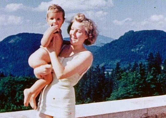 A selection of color photos of Eva Braun, who was Hitler's lover for 14 years…