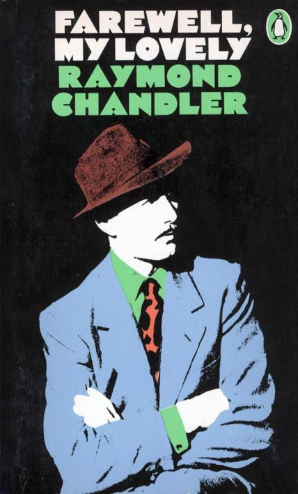 Raymond Chandler, Penguin Books, cover design James Tormey