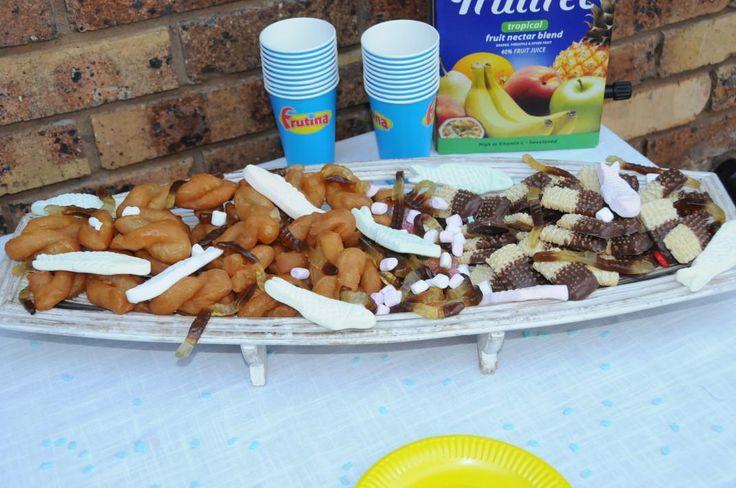 Fish theme party - Sweet stuff