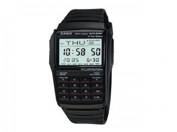 Relógio Masculino Casio Data Bank DBC 32 Digital - com Cronômetro e Calendário
