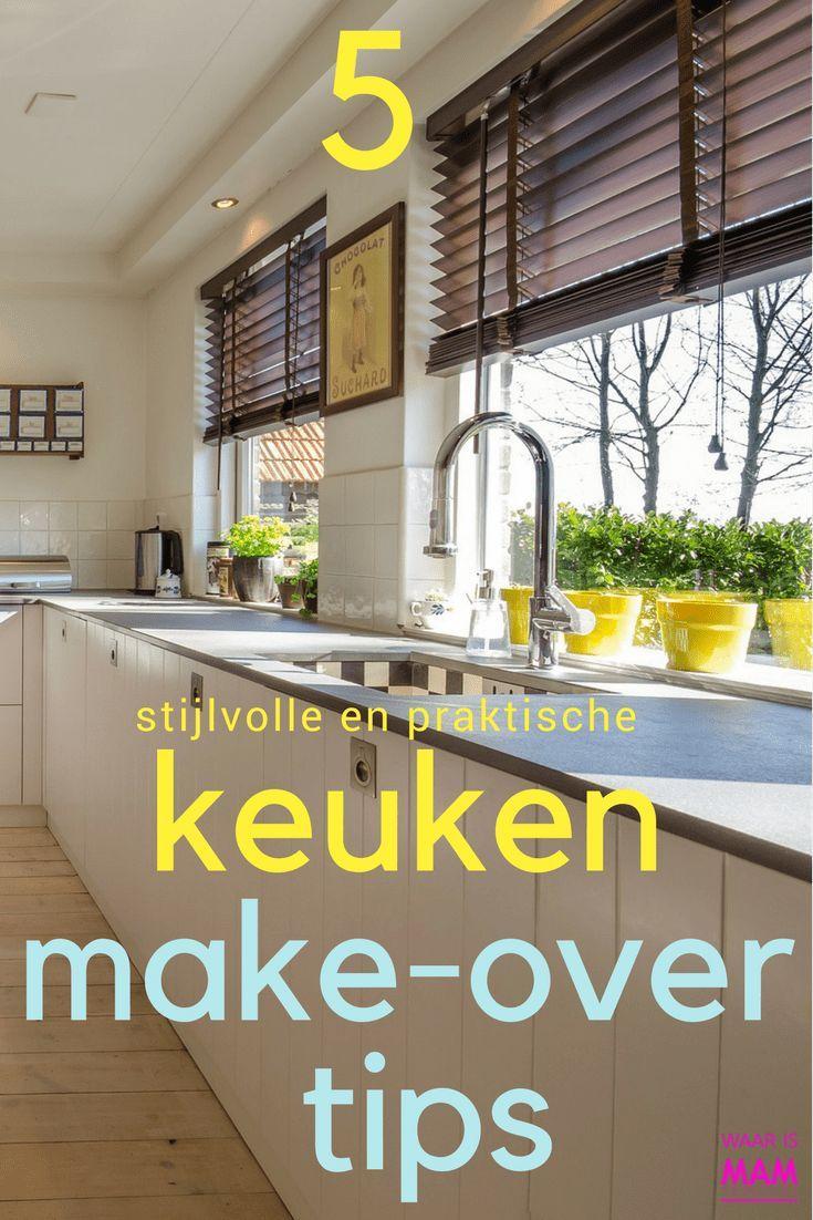 Fonkelnieuw 5 Stijlvolle en praktische keuken make-over tips - Keuken maken XA-05