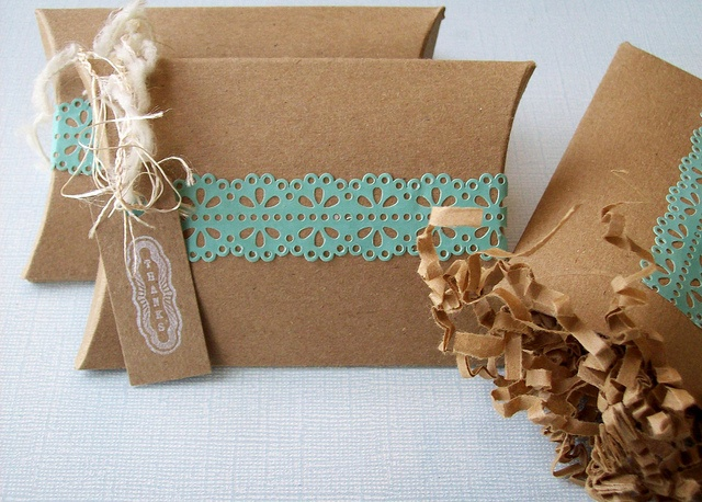 Light brown & teal are so beautiful together,