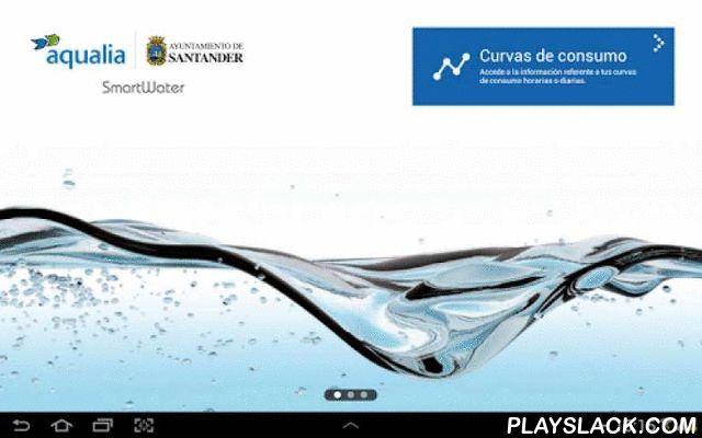 SmartWater  Android App - playslack.com , Santander Smart Water es un ambicioso proyecto de innovación tecnológica,pionero a nivel europeo, desarrollado de forma conjunta por Ayuntamientode Santandery FCC Aqualia. Su objetivo es realizar una gestión global y mucho máseficiente del ciclo integral del agua y ofrecer a los ciudadanos unaherramienta que permita, de una forma coordinada, interaccionar con elservicio, fomentando la participación ciudadana, a través de nuevoscanales.Ahora podrás…
