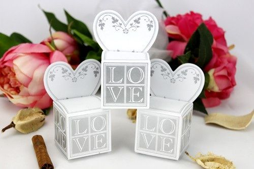 Buy Wedding favour gift boxes - Place card gift boxesfor R5.50