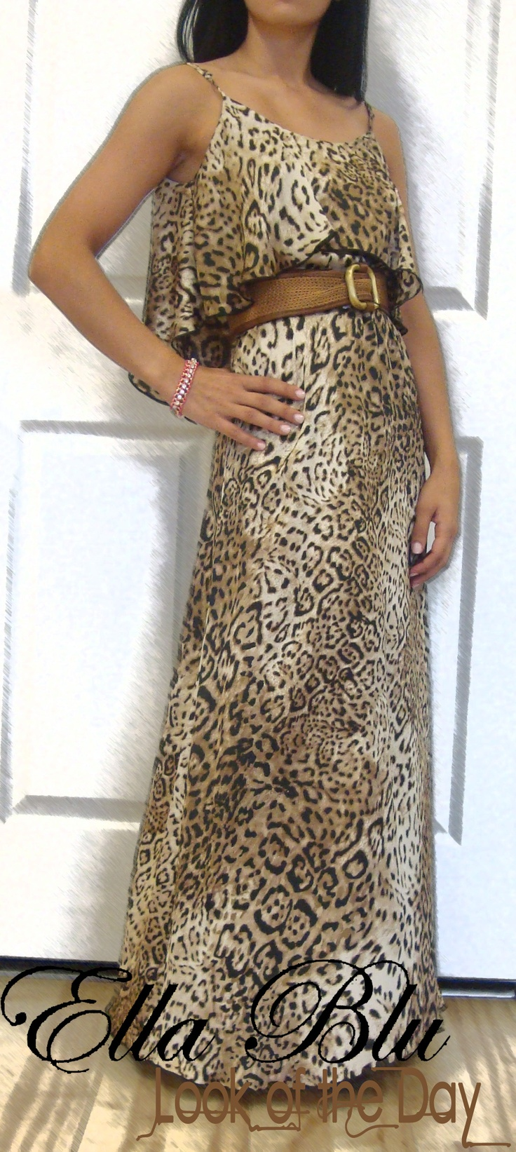 omg this is gorgeous and has my name written alllll over it!Prints Dresses, Classic Animal, Maxis Animal, Written Alllll, Animal Prints, Silk Maxis