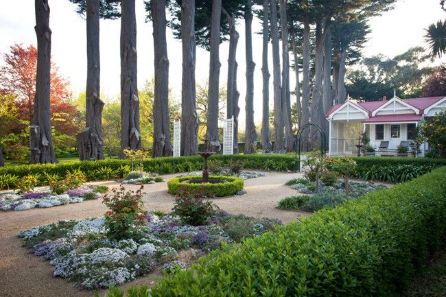 'Dreamthorpe' Historic hill garden Mount Macedon, It's legacy stretches back to the earl 1900's Victoria, Australia