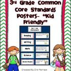 Do you want to display the new common core standards in your classroom, but think your third graders will have trouble understanding the difficult ...