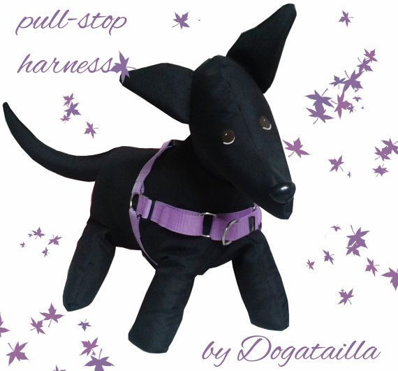 Pull-stop harness by DoGATAilla on Etsy