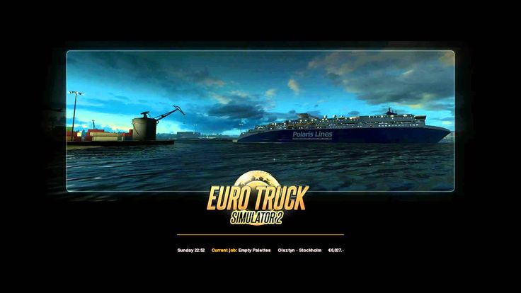 Euro Truck Simulator 2 Scania R 370 transporting Empty palettes from Ols...