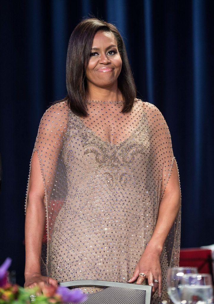 Michelle Obama Dress White House Correspondents Dinner 2016 | POPSUGAR Fashion