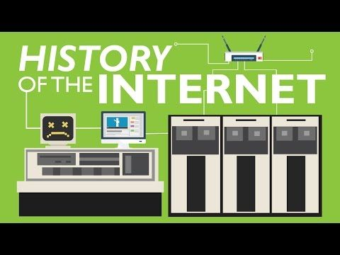 """""""History of the internet"""" is an animated documentary explaining the inventions from time-sharing to filesharing, from Arpanet to Internet. The clip was made ..."""