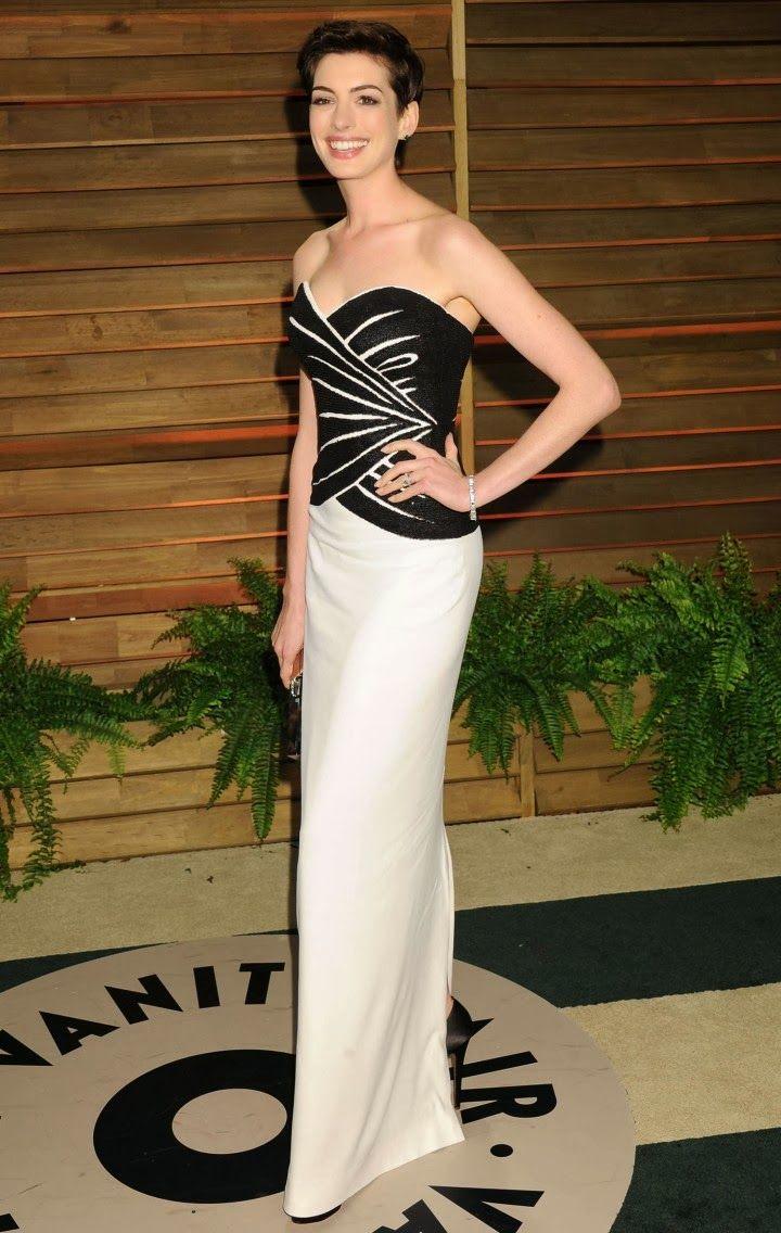 Anne Hathaway: Oscars 2014 – Vanity Fair Party
