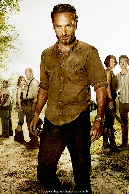 Andrew Lincoln - Rick Grimes,The Walking Dead