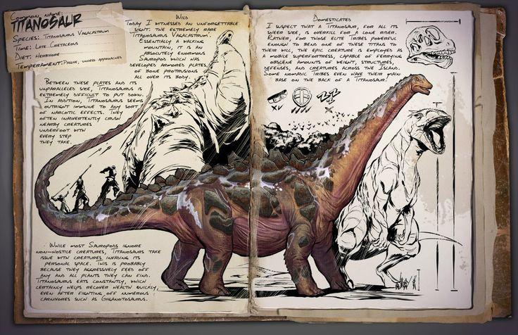 Titanosaur | Титанозавр | ARK: Survival Evolved