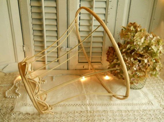 Vintage 1940's Bare Lamp Shade Frame by VintagePackratQueen, $22.00