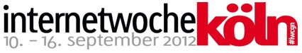 Internetwoche Köln noch bis zum 16.09.2012 #IWCGN Programm: http://iwcgn.koeln.de/programm.html