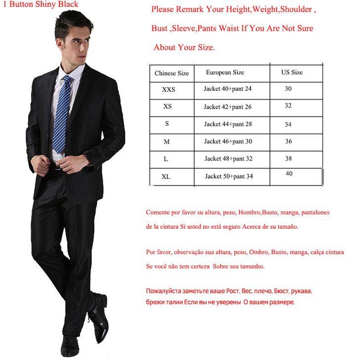 2Pcs(Jacket+Pants) Men Wedding Bridegroom Multi-color Suits 2015 Brand Slim Classic Business Party Formal Suits With Pants Y2