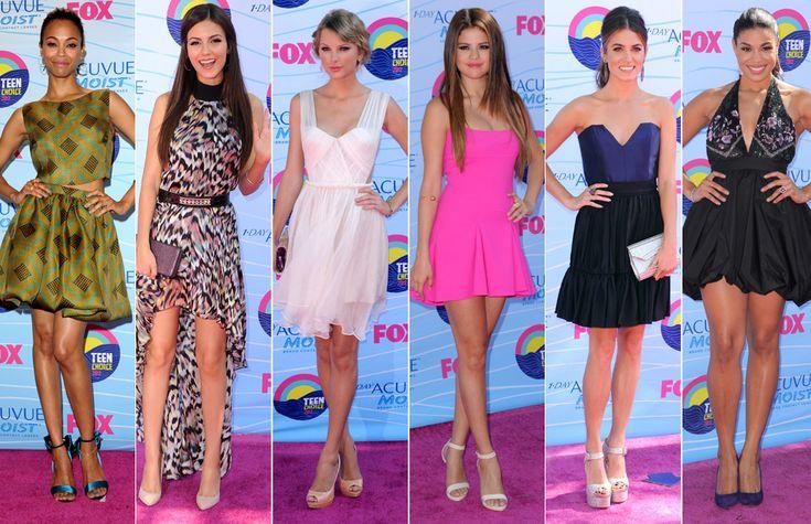 Zoe Saldana  Victoria Justice  Taylor Swift  Selena G  243 mez  Nikki Reed    Victoria Justice And Taylor Swift