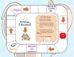 Frisson l'écureuil : plateau de jeu de compréhension