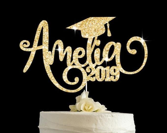 Graduation Cake Topper Grad Cake Topper Graduate Decoration