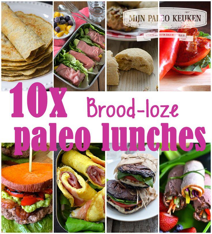 10x brood-loze paleo lunch opties