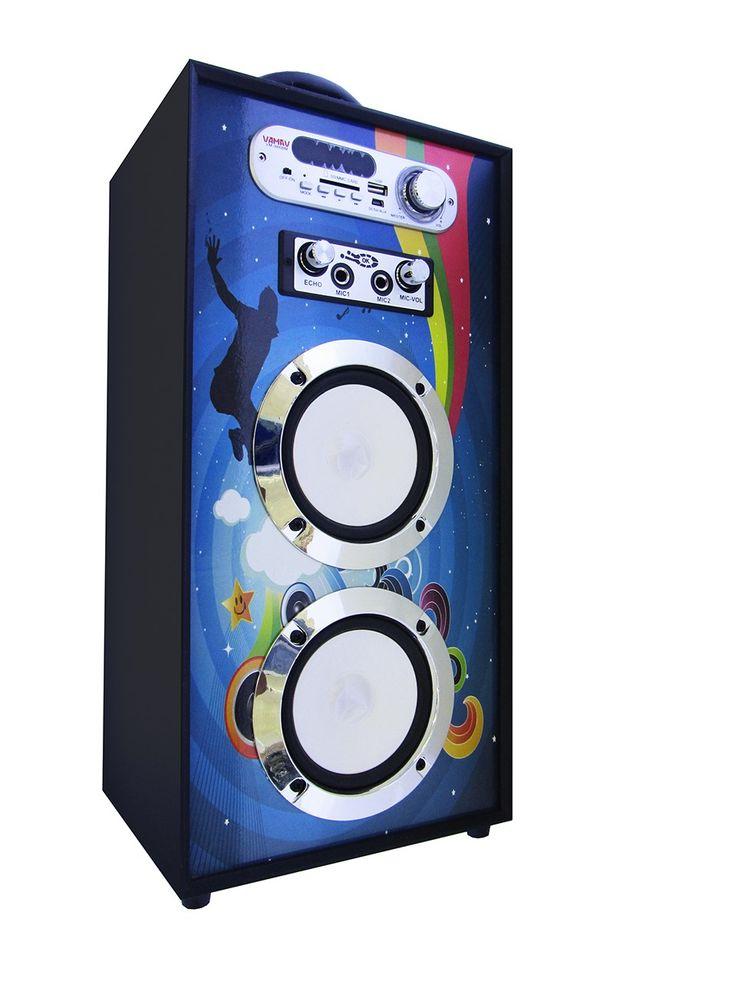 Altavoz Portátil Karaoke Bluetooth Radio FM y Batería Interna modelo V-1171 06 - Altavoz Portátil Karaoke Bluetooth Radio FM y Batería Interna Podrás escuchar toda tu música sin necesidad de cablesademás gracias a la tecnología Bluetooth, reproduce la música de tu móvil o tablet directamente en el altavoz sin cables de por medio. Radio FM para que no te pierdas tus programa... - http://buscacomercio.es/producto/altavoz-portatil-karaoke-bluetooth-radio-fm-y-bateria