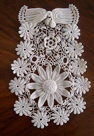 Inspiration for Irish Crochet no pattern
