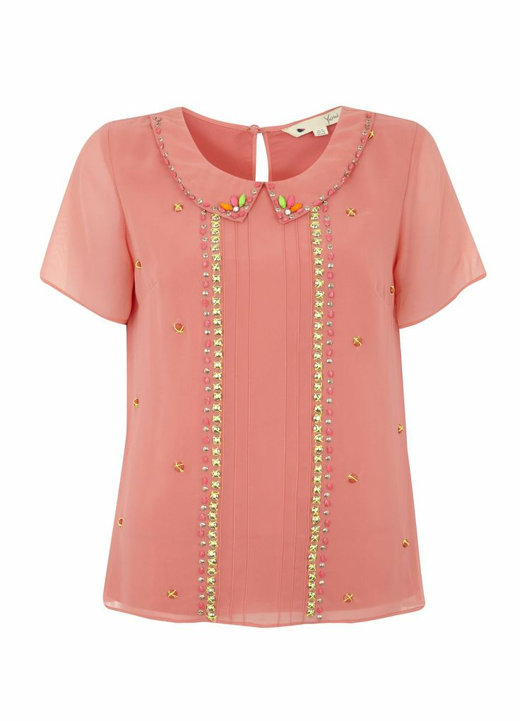 Beautifully Be-Jewelled Top