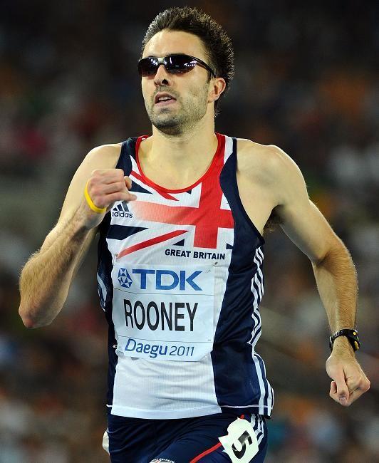 Martyn Rooney - 400 metres.