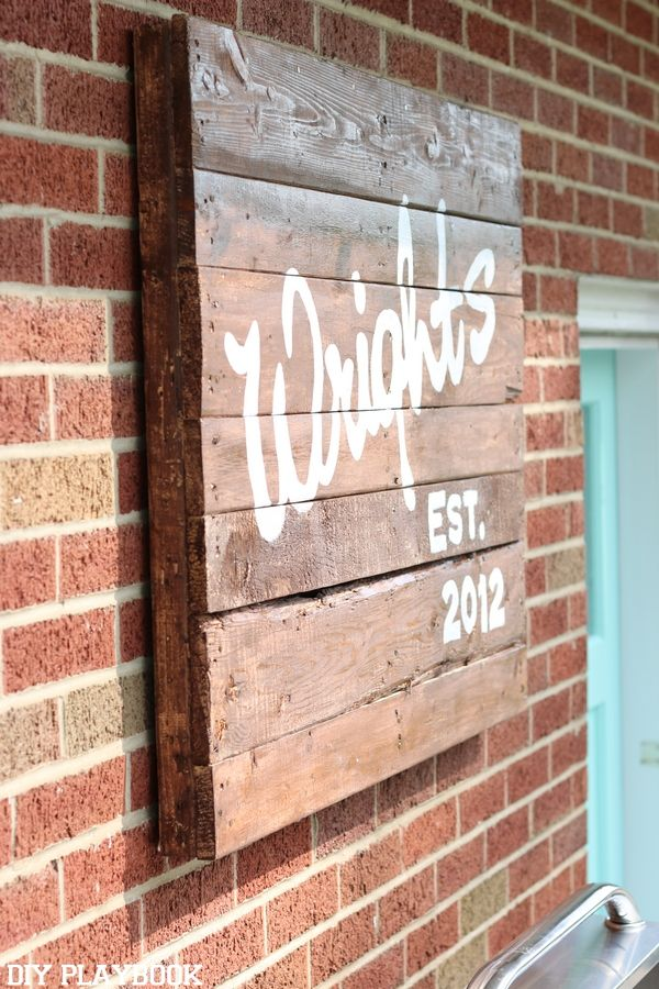 Here's a list of some our favorite DIY Father's Day gifts. Make this FREE pallet sign for your dad's office, man cave, or home patio!