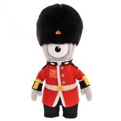 #London2012 Olympic games mascot queens gard Mascotte JO Londres 2012 Pureshopping