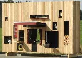 Modern outdoor storage..Would love to read more about this. Does anyone know where this is from???