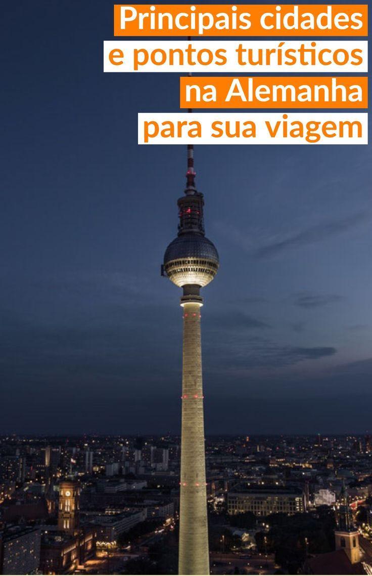 Principais cidades e pontos turísticos na #Alemanha para sua viagem