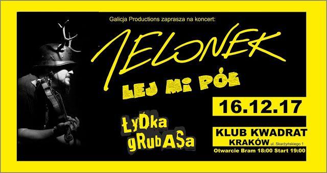 Heavy Metal Music & More  : Jelonek zagra w Krakowie!