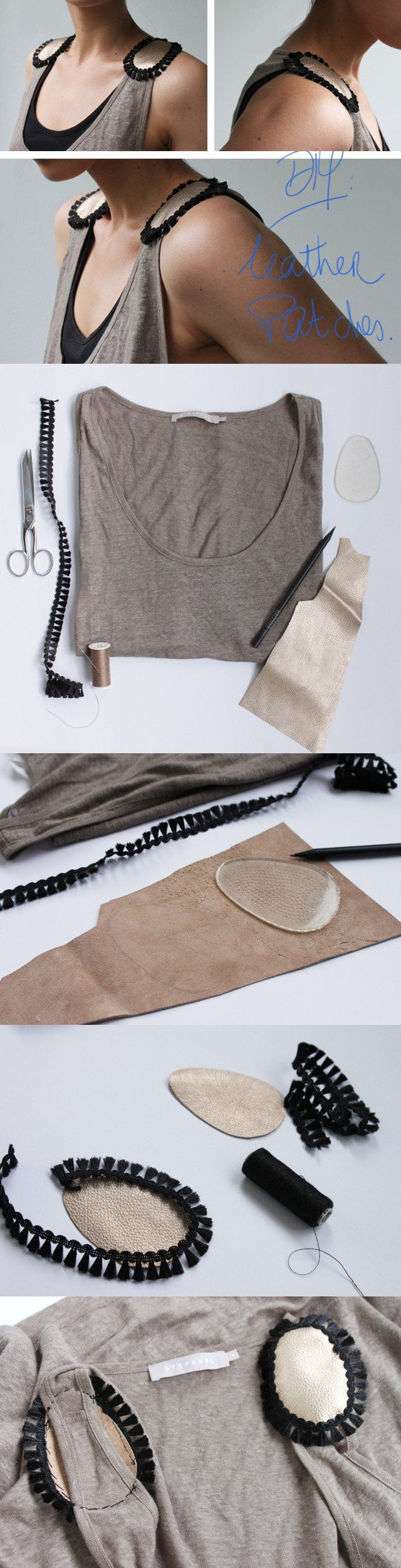 15 DIY Clothing Tutorials - Fashionable DIY Clothes You Should Not Miss - Styles Weekly